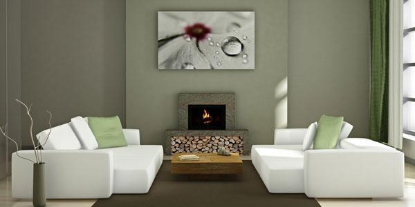 memilih lukisan minimalis