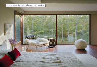 Desain kamar tidur rumah mewah minimalis lantai dasar