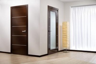 desain elegan pintu rumah minimalis
