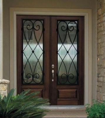 desain pintu rumah minimalis sederhana