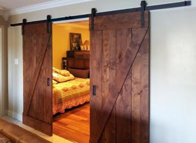 desain pintu rumah minimalis terbaru kamar tidur