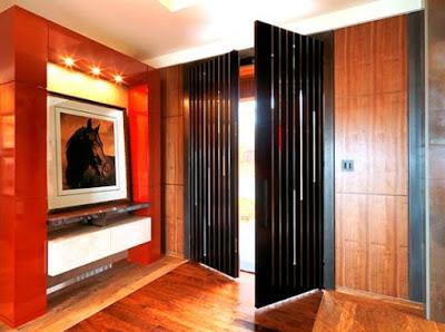 desain pintu rumah minimalis terbaru ruang tamu