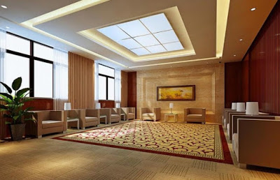 desain plafon ruang tamu minimalis kecil
