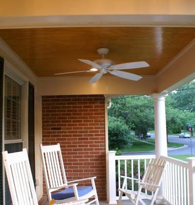 desain plafon teras dari kayu