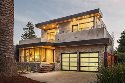 desain rumah minimalis 2 lantai terbaru elegan dan indah