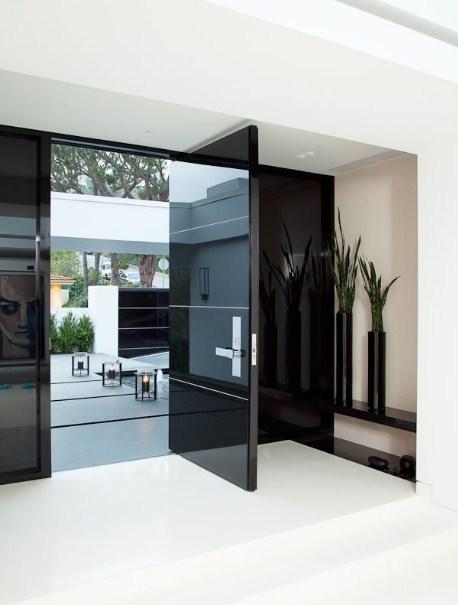 foto desain pintu rumah minimalis modern 2107