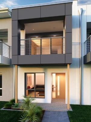 foto desain rumah minimalis 2 lantai