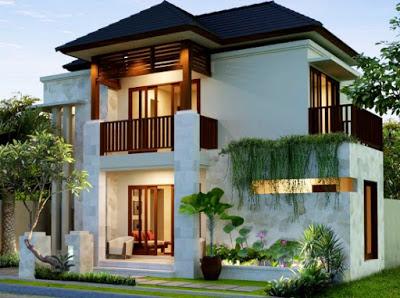 foto rumah minimalis 2 lantai type 120 modern
