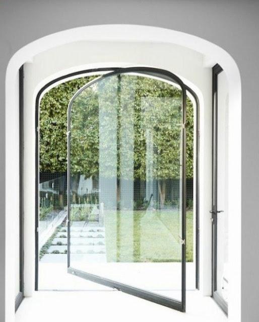 gambar pintu putar rumah minimalis modern