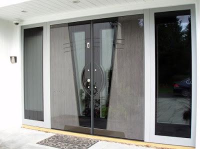 gambar pintu rumah 1 lantai minimalis