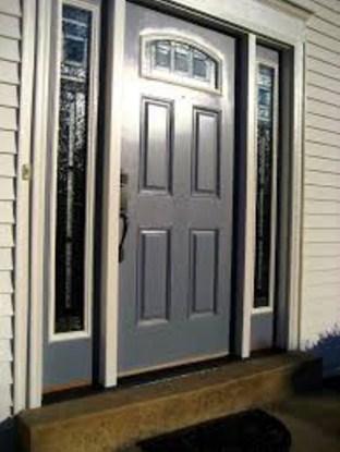 gambar pintu utama rumah minimalis