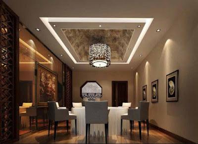 gambar plafon ruang makan