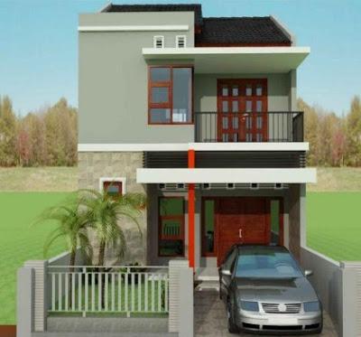 gambar rumah minimalis 2 lantai type 45