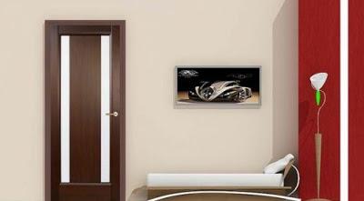 model pintu kamar rumah minimalis terbaru