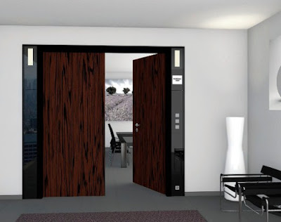 model pintu rumah minimalis 1 lantai modern