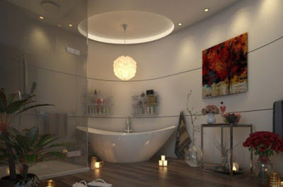 model plafon kamar mandi sederhana