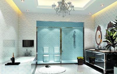 model plafon kamar mandi terbaru