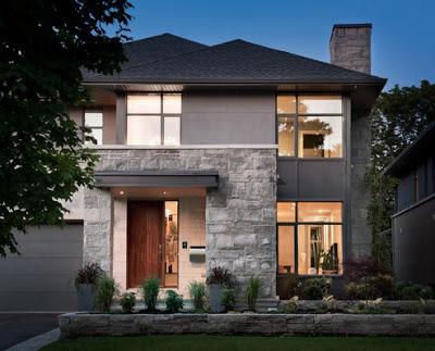 model rumah minimalis 2 lantai terbaru modern