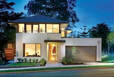 model rumah minimalis 2 lantai terbaru sederhana