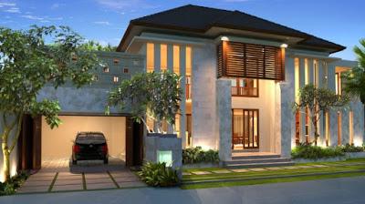 model rumah minimalis 2 lantai type 120