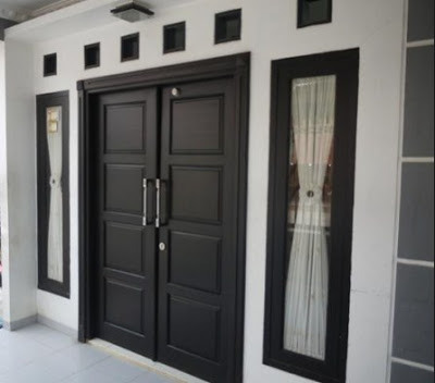 pintu dan jendela rumah minimalis modern